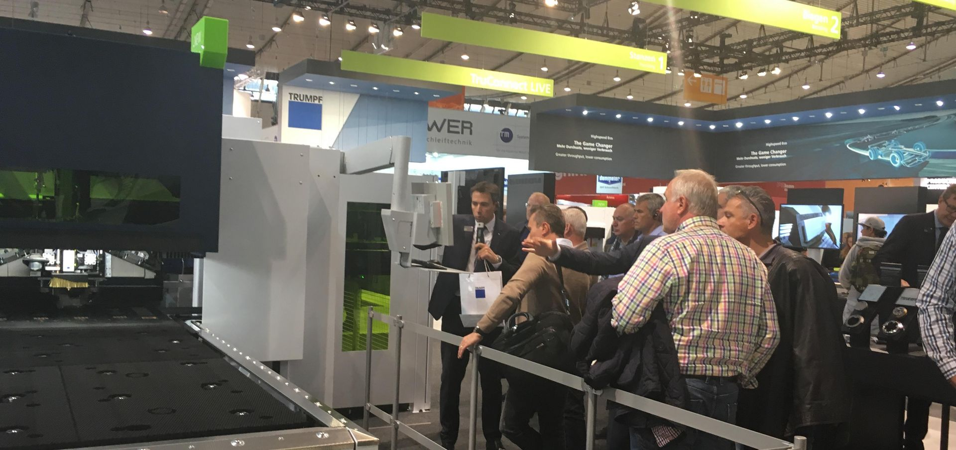 Blechexpo: From Stuttgart to the Windy City and back | TRUMPF