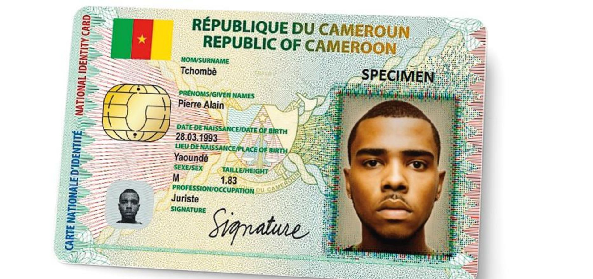 A Perfect Id Card For Cameroon S Citizens Trumpf