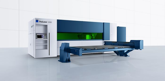 TruLaser 2030 fiber, powerful compact machine