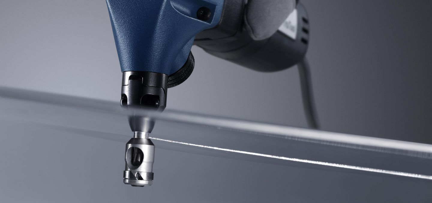 Image of the technology inside the TRUMPF nibbler