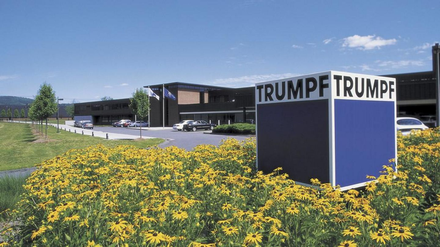 Picture showing building of TRUMPF subsidiary in Farmington, US