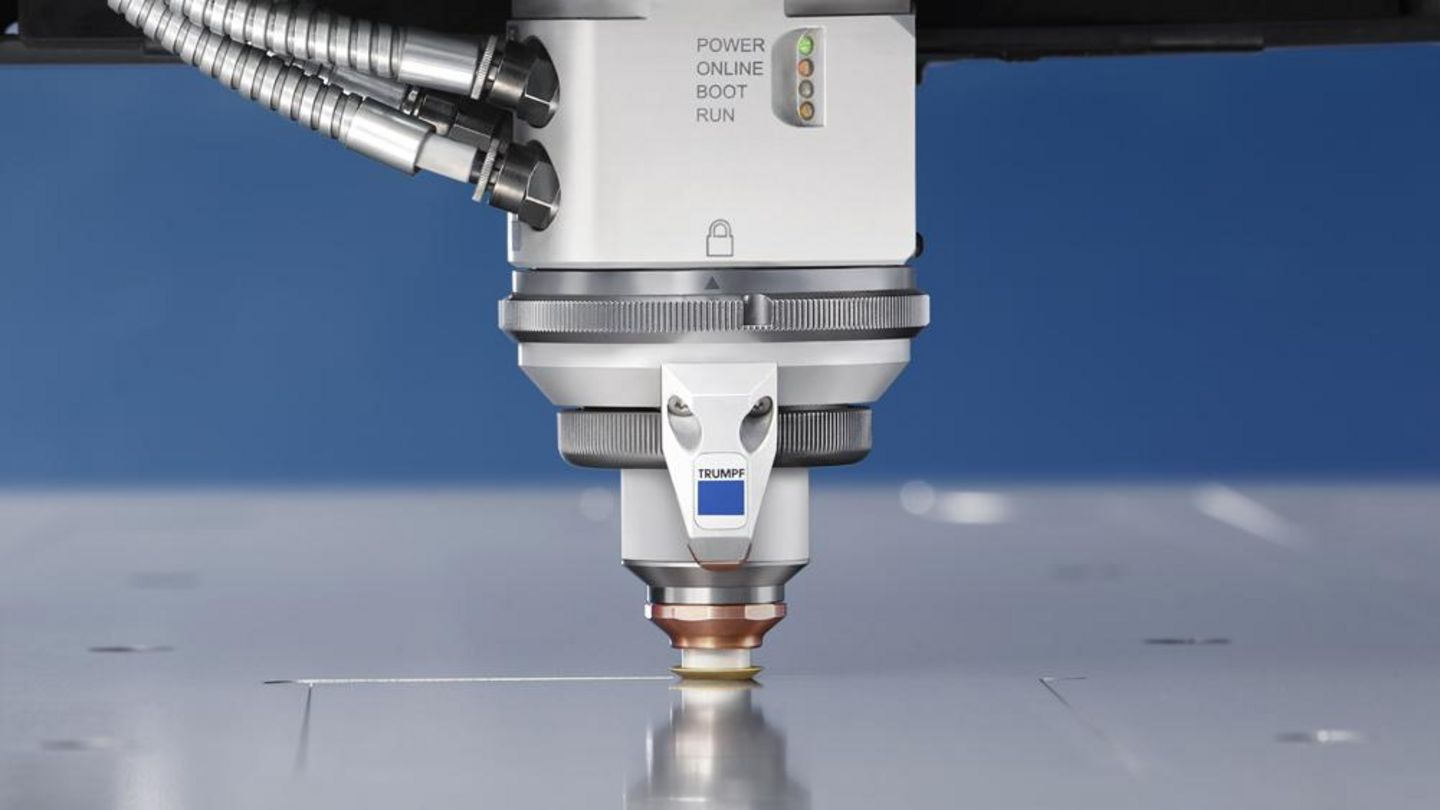 Cutting head with Highspeed Eco cutting process nozzle