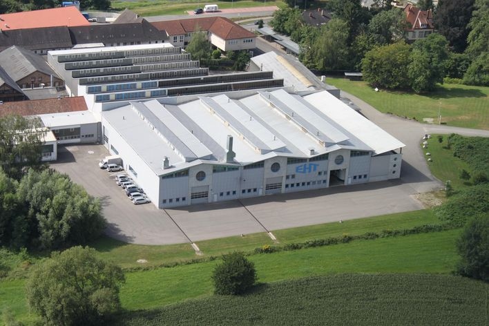 Building of EHT in Teningen, Germany