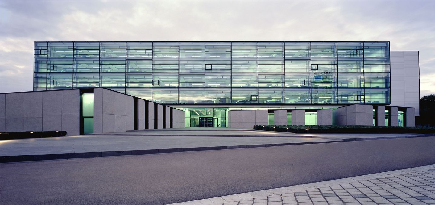 headquarters building of TRUMPF in Ditzingen, Germany