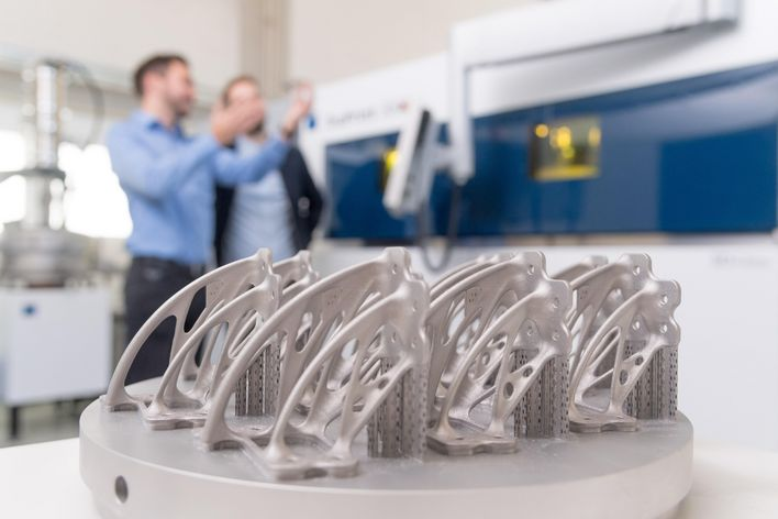 Tailored application consulting by TRUMPF experts for your application in additive manufacturing