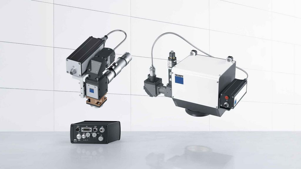 TRUMPF products for temperature control when plastic welding