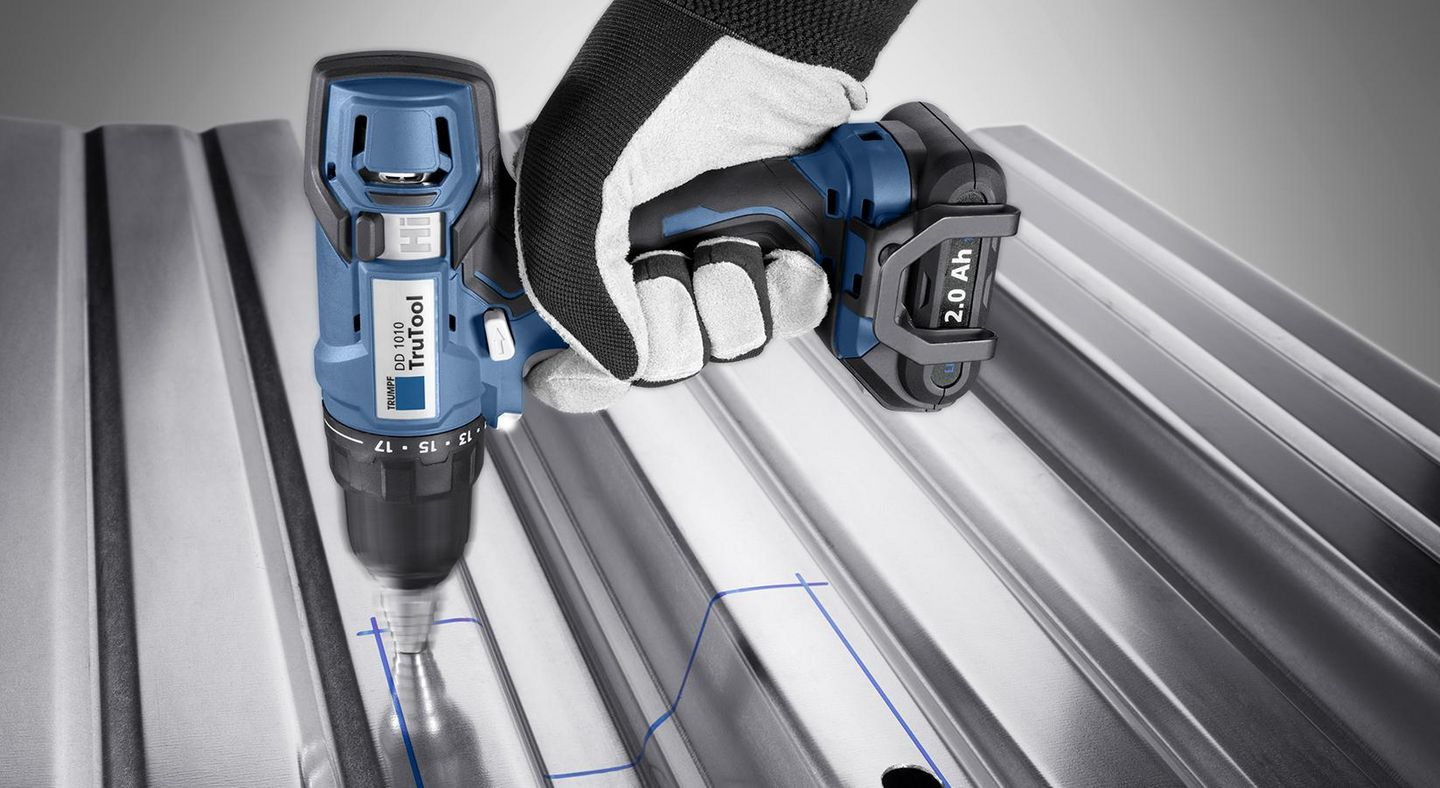 Image of the technology inside the TRUMPF drill driver