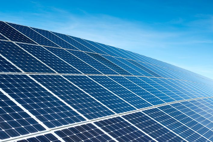 Photovoltaic cell production