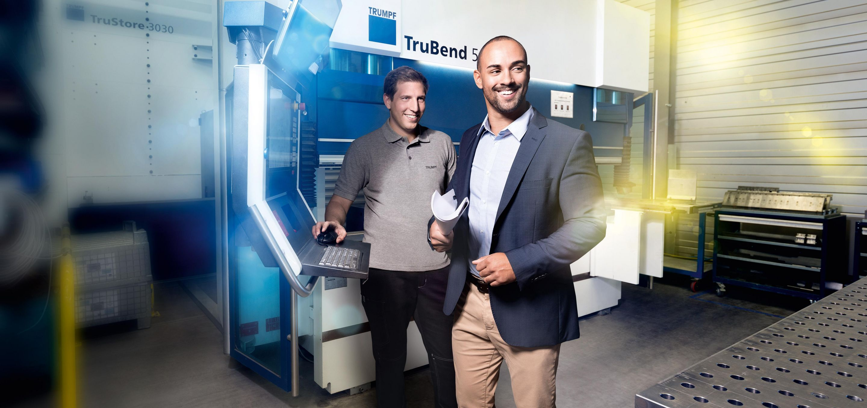 TRUMPF Services Pre-owned machines key visual