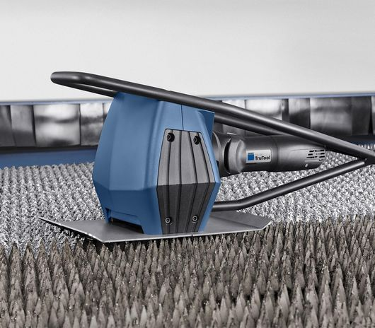 Image of the technology inside the TRUMPF slat cleaner