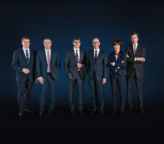 Group photo of TRUMPF Managing Board