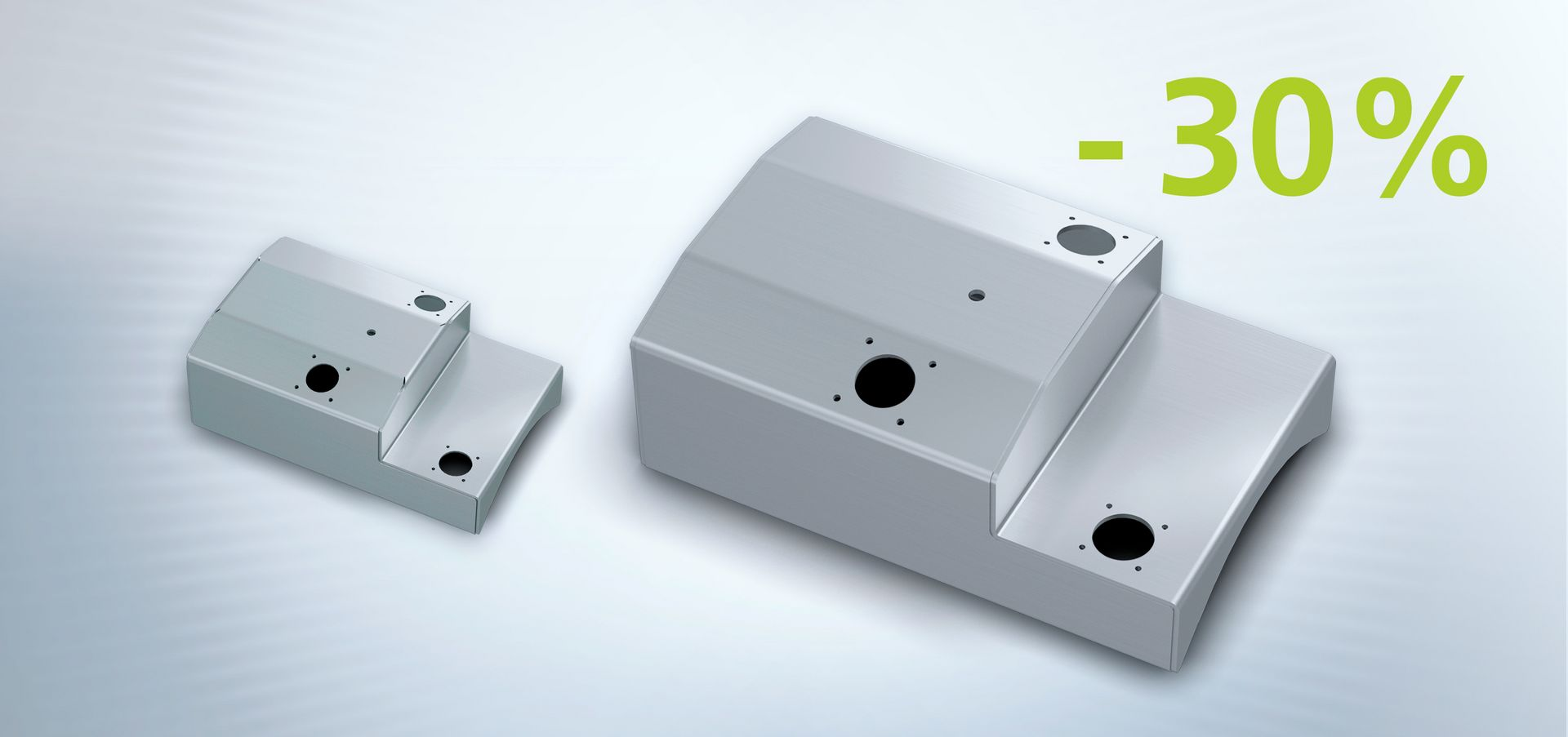 Part optimisation, laser welding part design, example