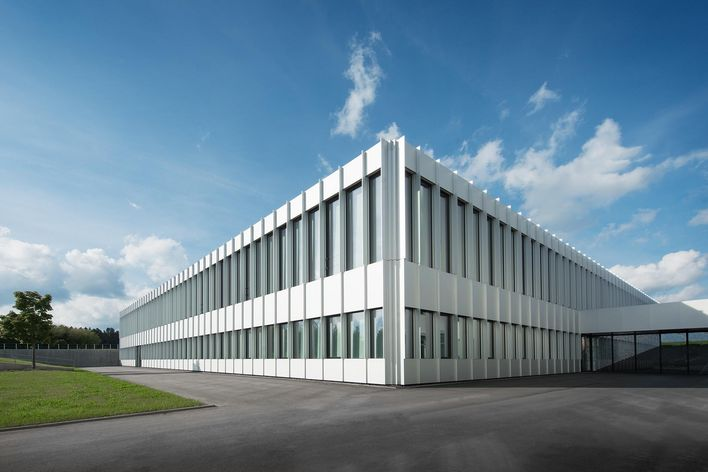 building of TRUMPF in Schramberg Germany