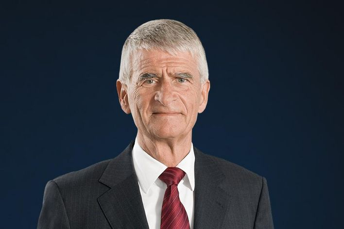 Portrait of Dr. Jürgen Hambrecht supervisory board chairman of TRUMPF