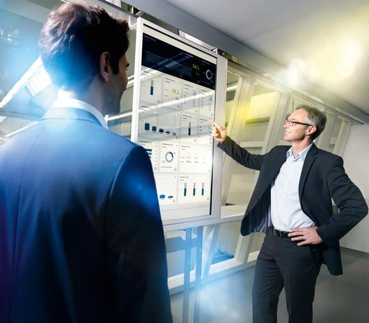 TRUMPF Services Monitoring + Analyse key visual