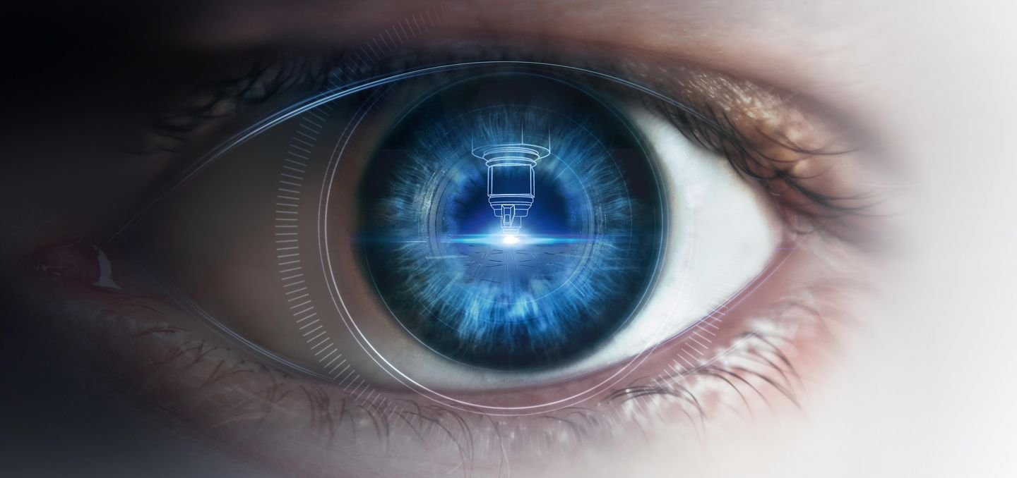 Key Visual Autonomes Laserschneiden