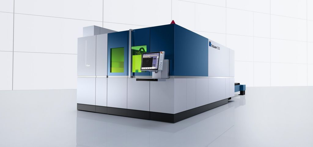 TruLaser 5030 fiber, productive machine with solid-state laser