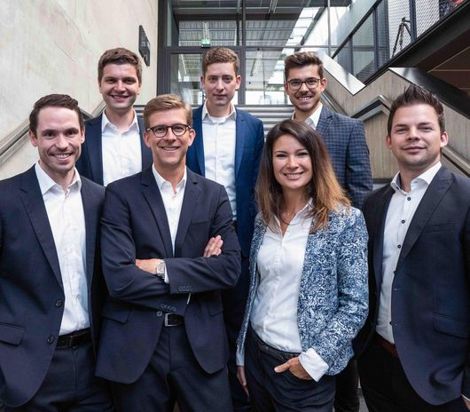 Gruppenbild des Smart Factory Consulting Teams