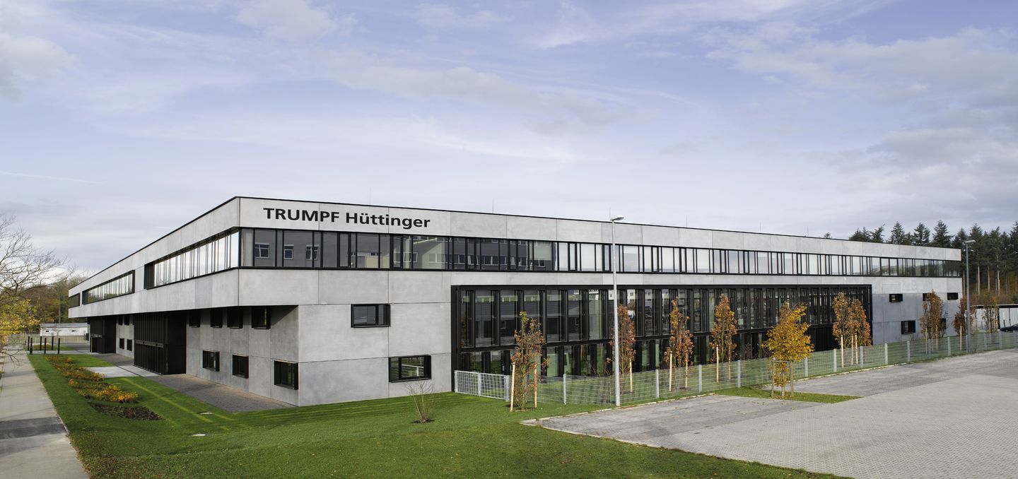Building of TRUMPF subsidiary in Freiburg Germany