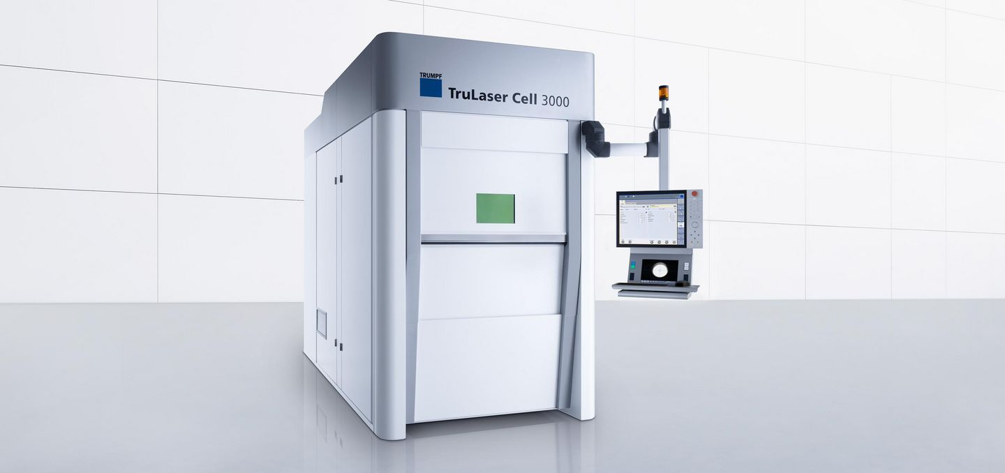 TruLaser Cell 3000, unique and universal