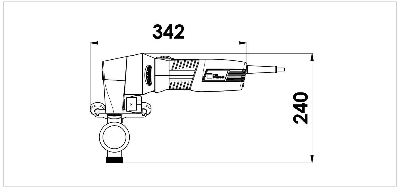 Dimensional drawing, TruTool TKF 700