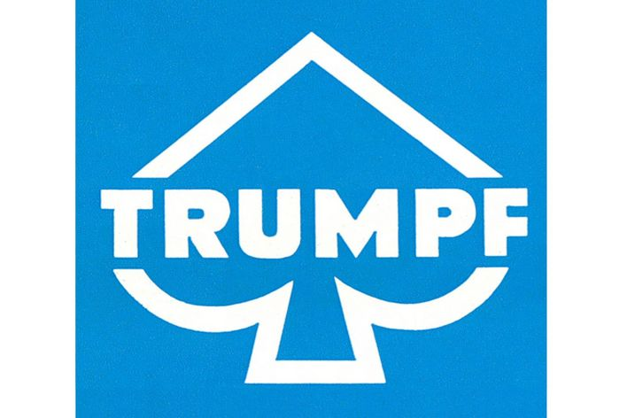 historical picture of the first TRUMPF Logo