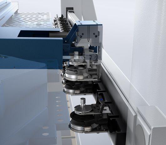 SheetMaster, integrierter Werkzeugwechsler