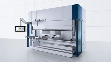 TruBend Series 5000, productive all-around machine