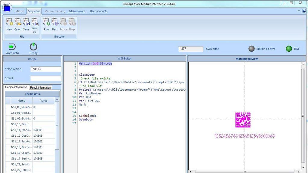trutops mark trumpf rh trumpf com Avaya Partner Programming Manual Radio Programming Document