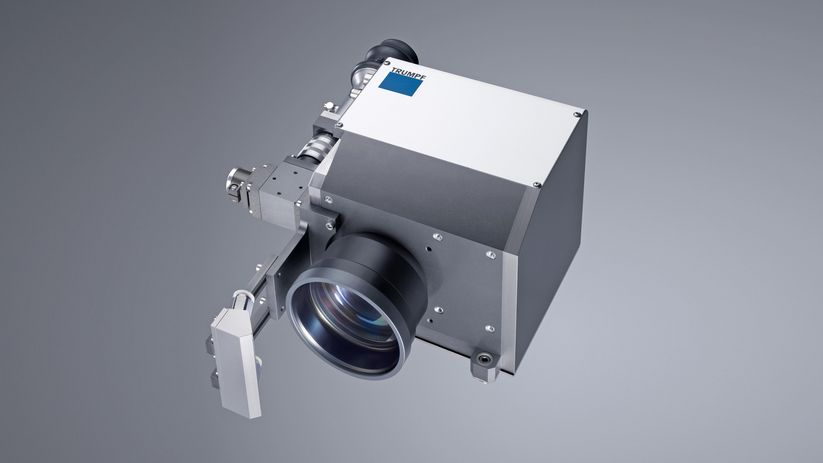 The TruPulse has an interface to connect TRUMPF processing optics, such as the PFO 20.