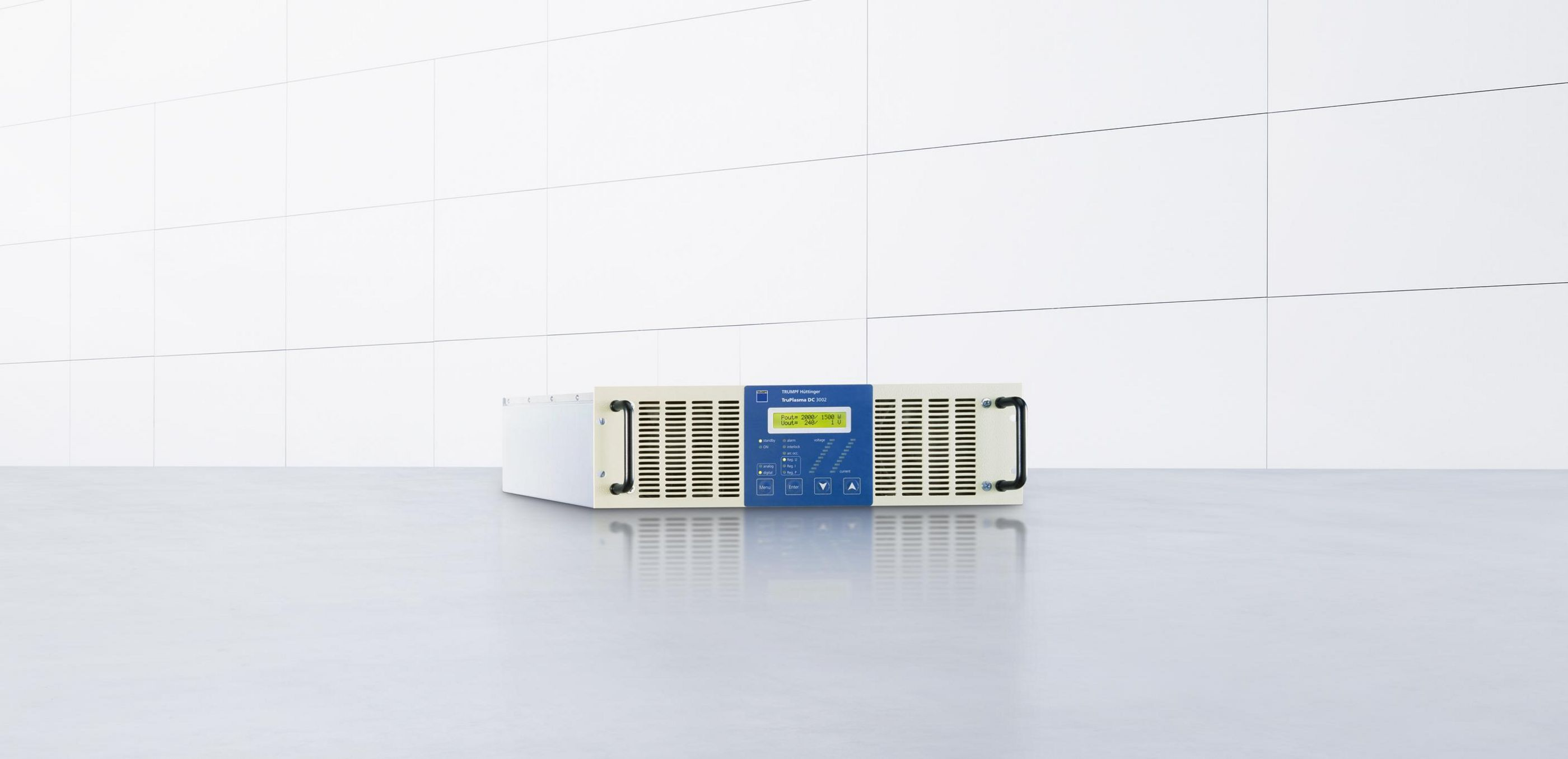 Direct current generator for demanding plasma processes: TruPlasma DC 3010