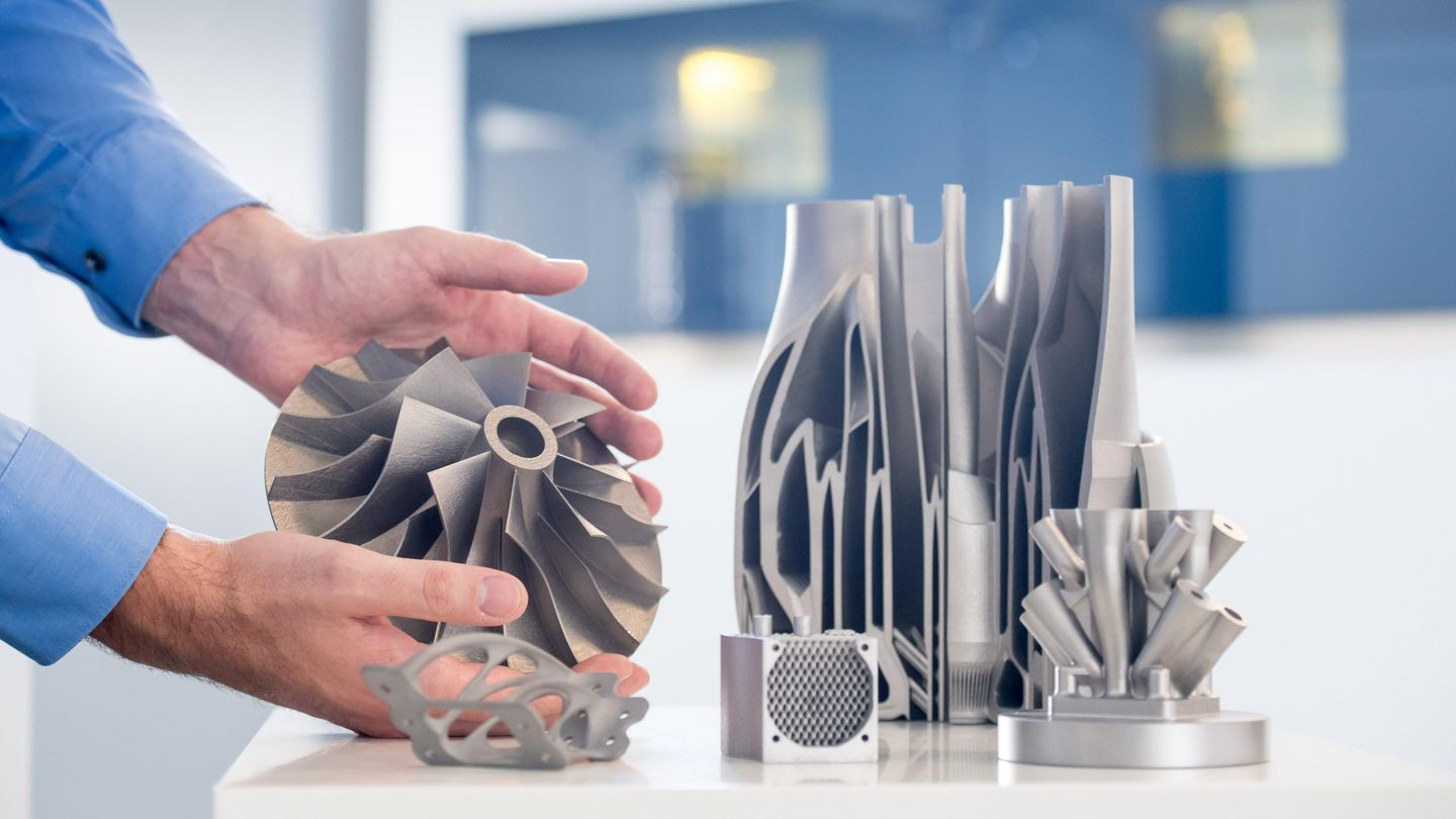 Varied fields of application for the TRUMPF TruPrint 3D printing systems