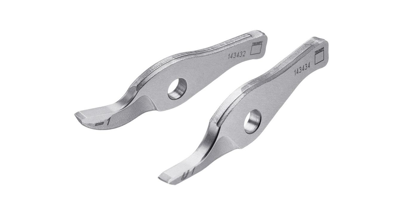 TruTool C160, cutter set (straight cutter, curve cutter)