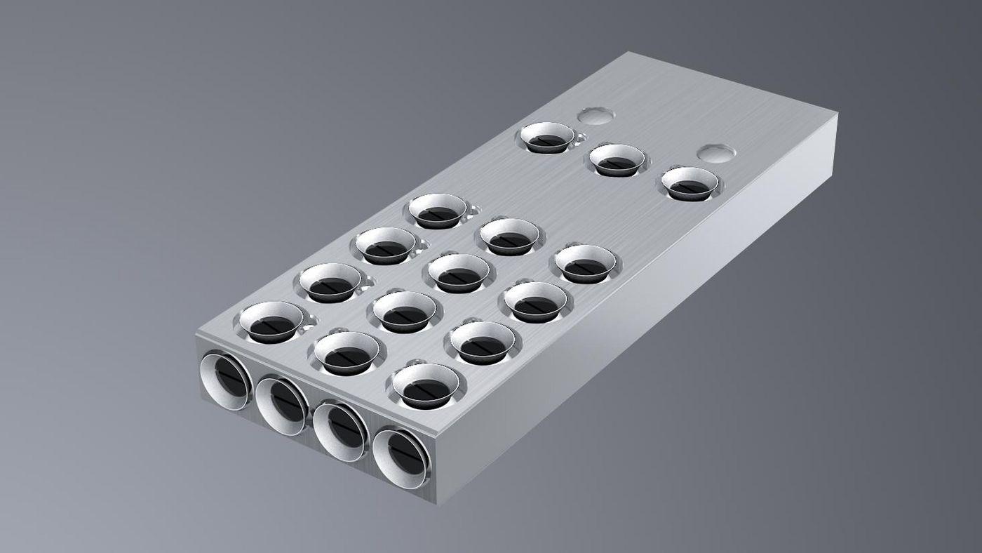 3-surface suction module