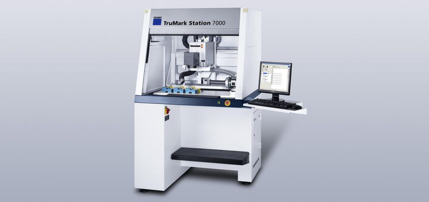 High-end mit allen Features - die TruMark Station 7000