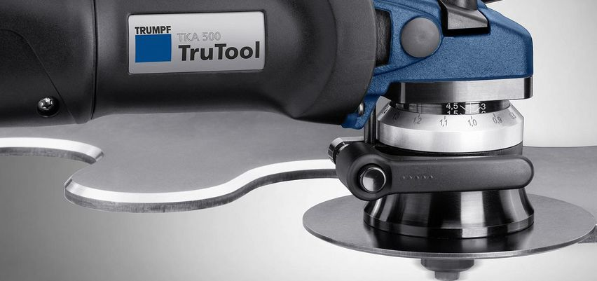 TruTool TKA 500. With or without tool.
