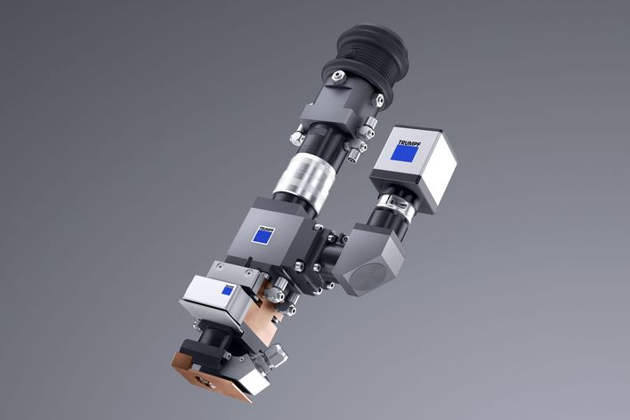 BEO D35 focusing optics for welding with solid-state lasers