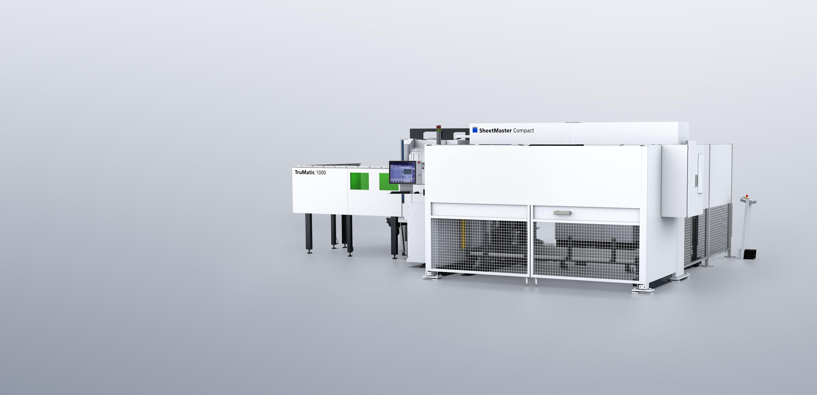 TruMatic 1000 fiber ve SheetMaster Compact