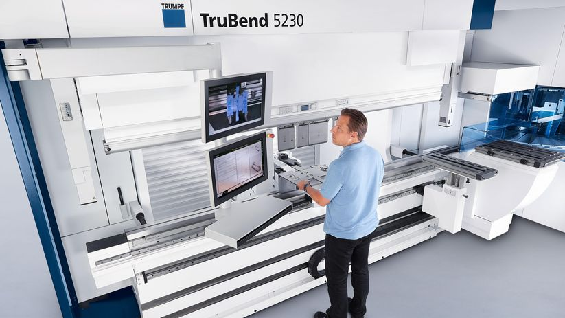 TruBend Serie 5000, PartIndicator