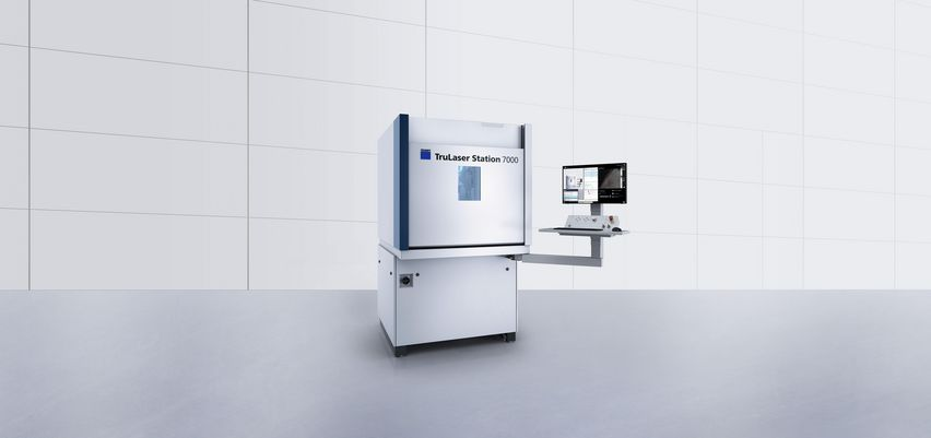 TruLaser Station 7000 top-quality components