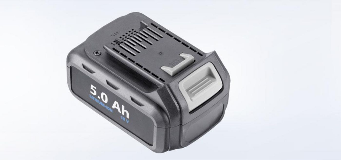18 V Li-ion rechargeable battery