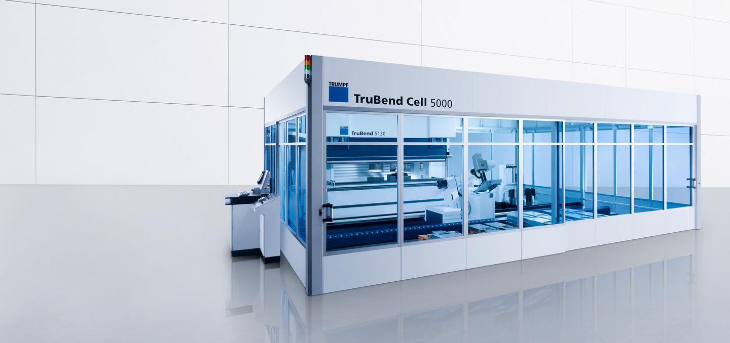 TruBend Cell 5000, productive universal bending cell