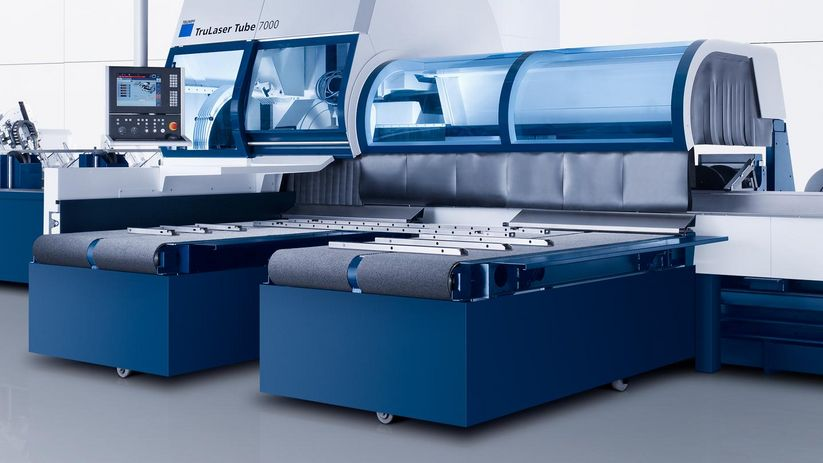 TruLaser Tube 7000, bevel cutting option