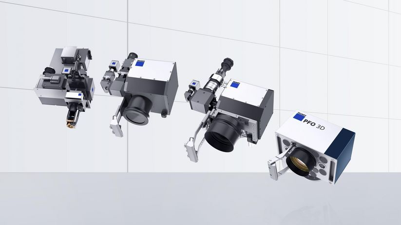 TRUMPF programmable focusing optics (PFO) for remote laser welding