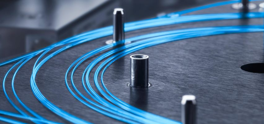The resonator of the TruFiber laser is comprised of a thin fiber