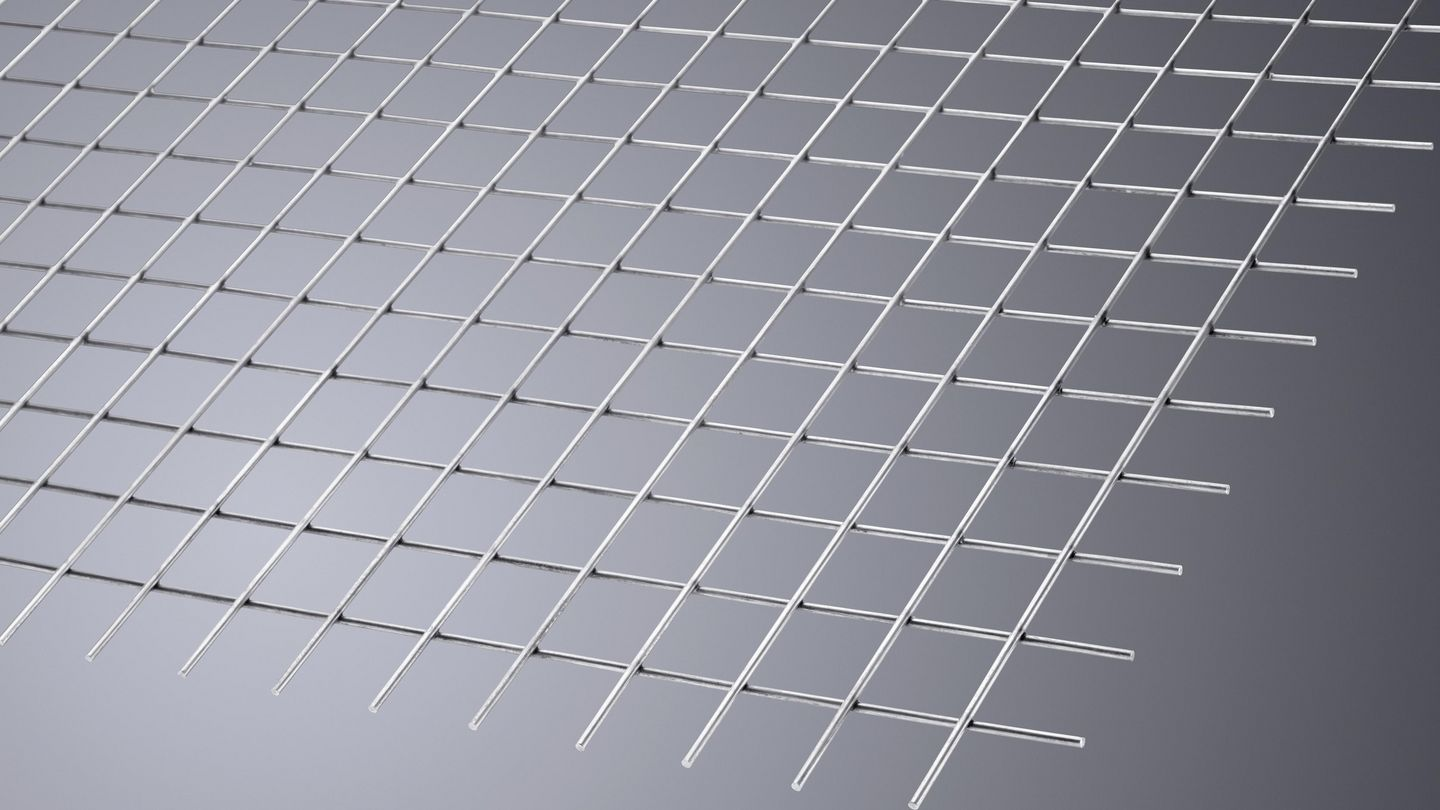 For cutting a wide variety of wire grids