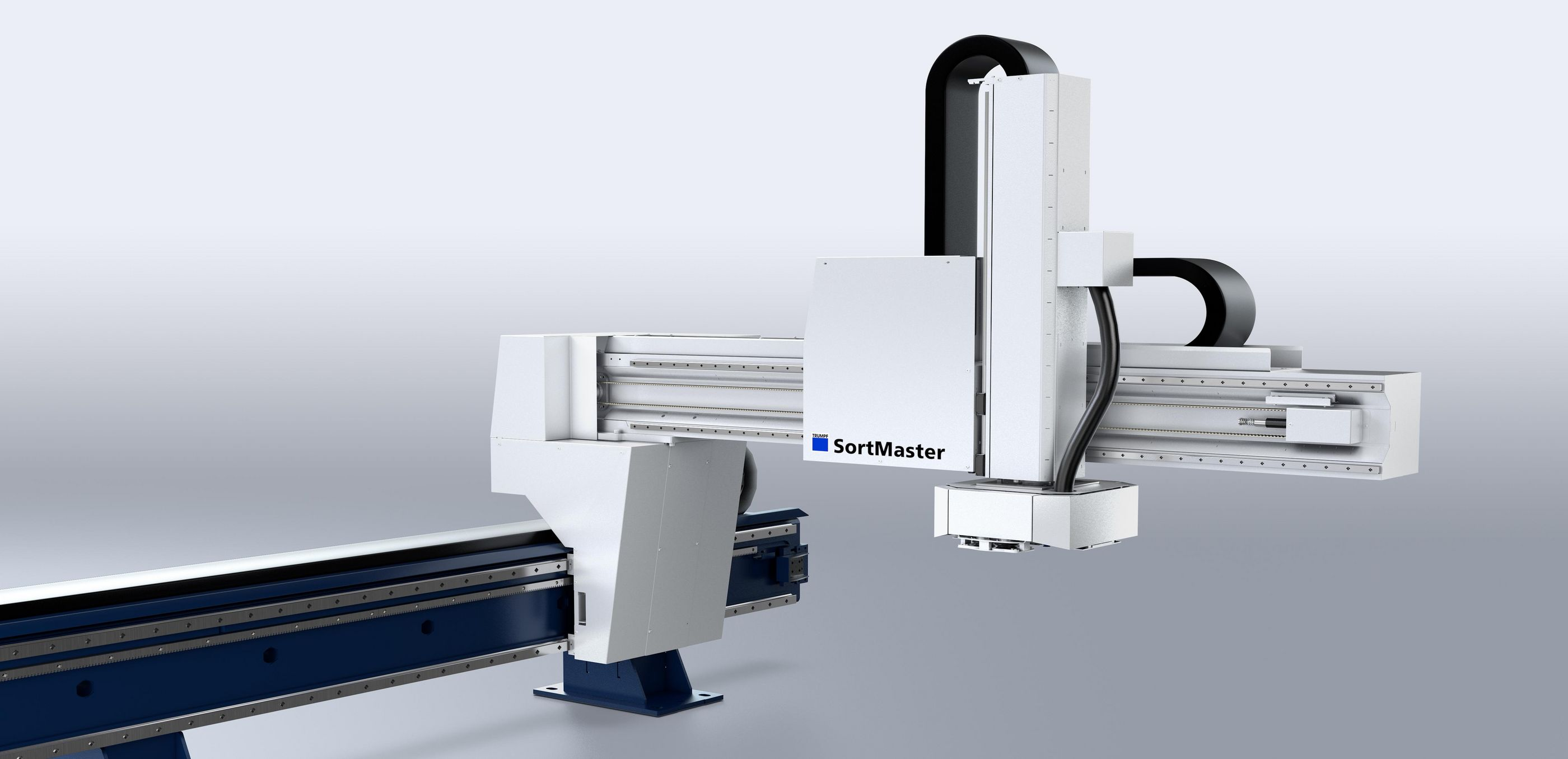 SortMaster: fully automated sorting of small and large parts