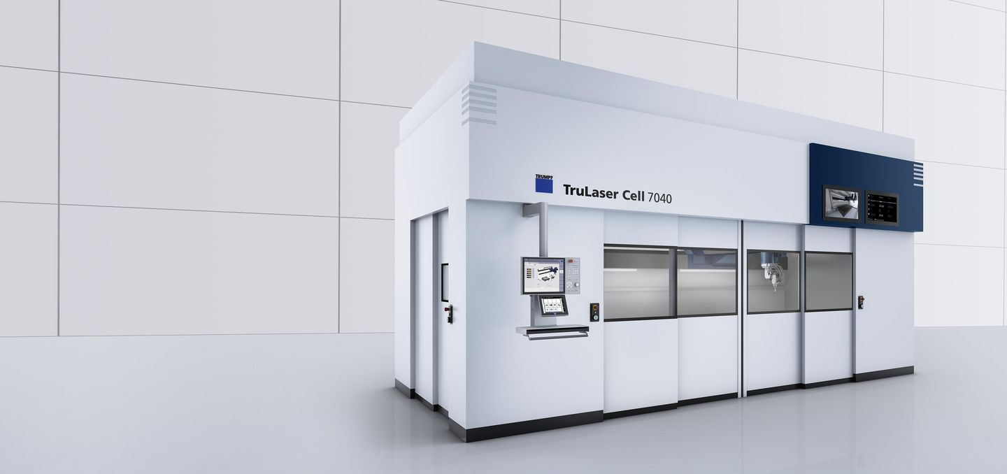 TRUMPF TruLaser Cell 7040 3D laser processing machine