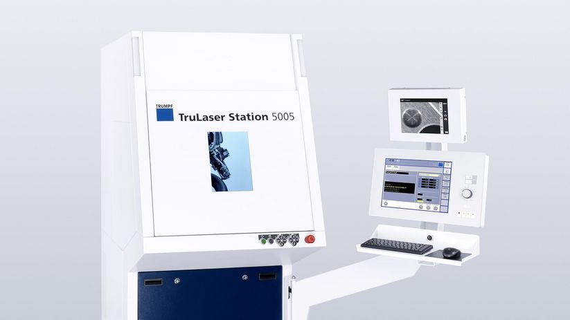 Panel PC na TruLaser Station 5005