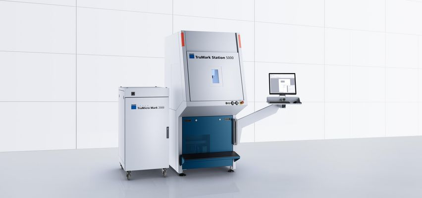 TruMicro Mark 2000 with integrated laser from the TruMicro Series 2000